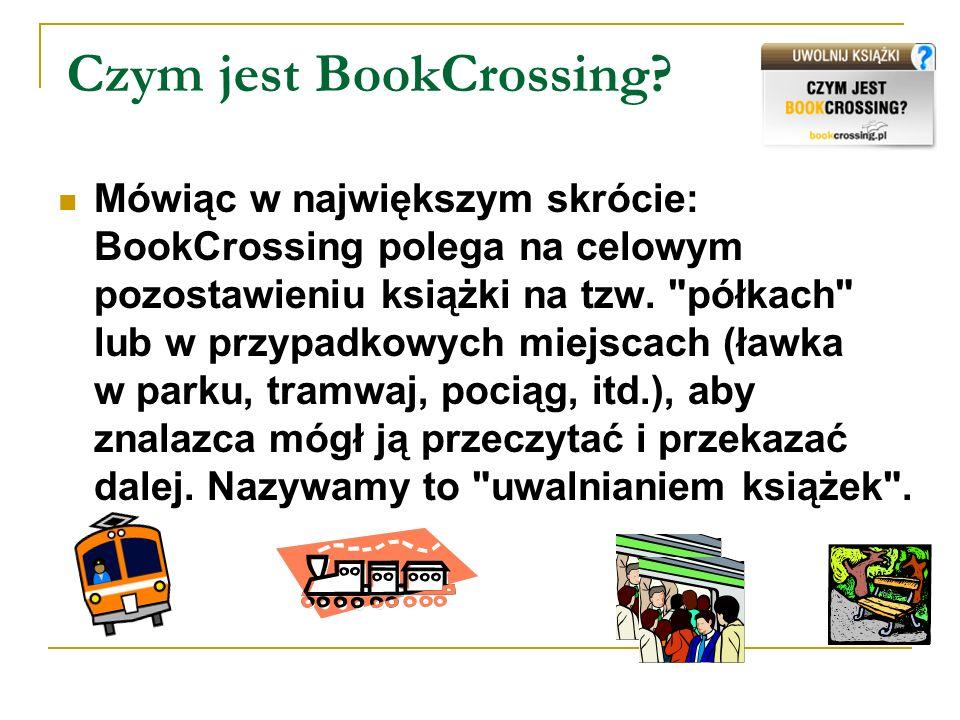 Czym jest BookCrossing
