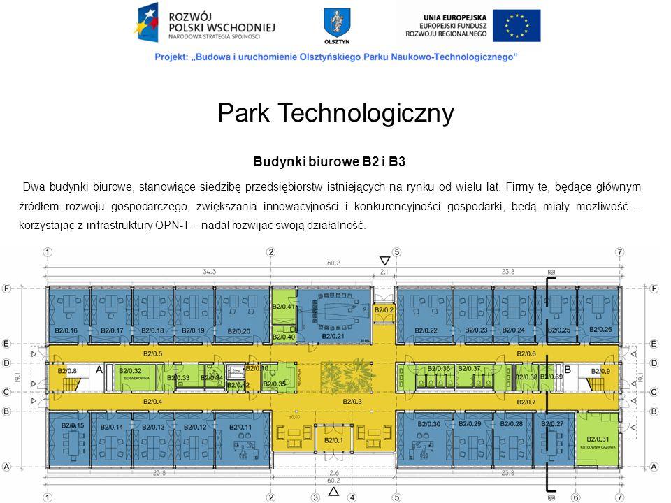 Park Technologiczny Budynki biurowe B2 i B3.