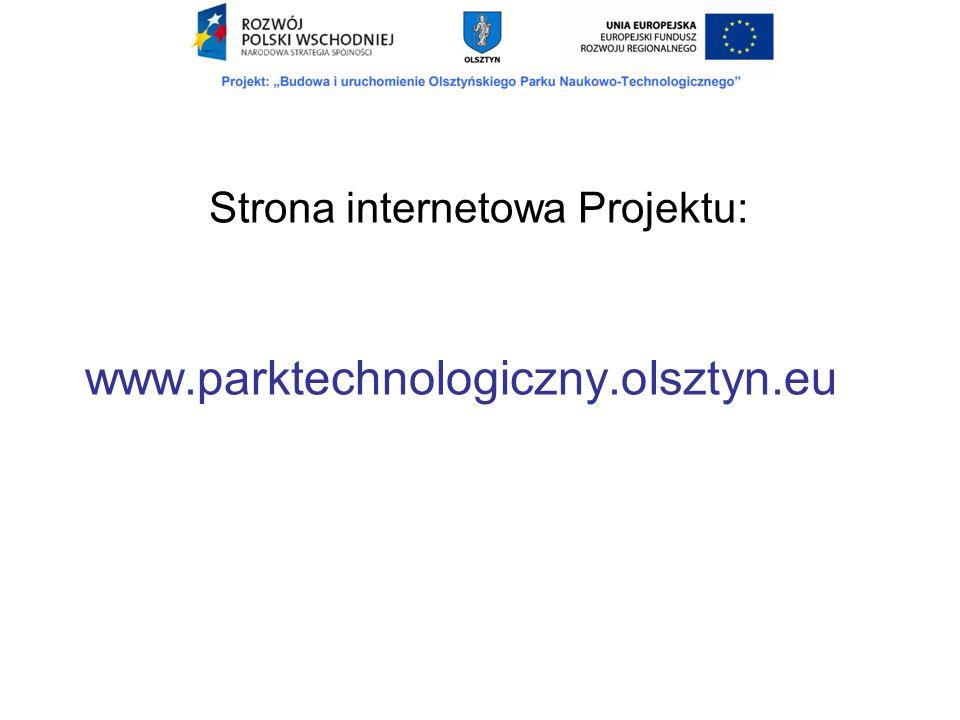 Strona internetowa Projektu: