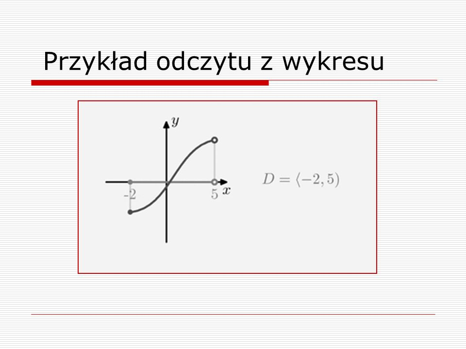 Przykład odczytu z wykresu