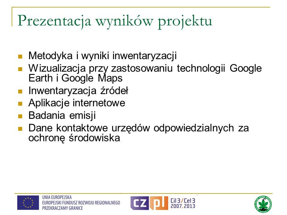 Prezentacja wyników projektu