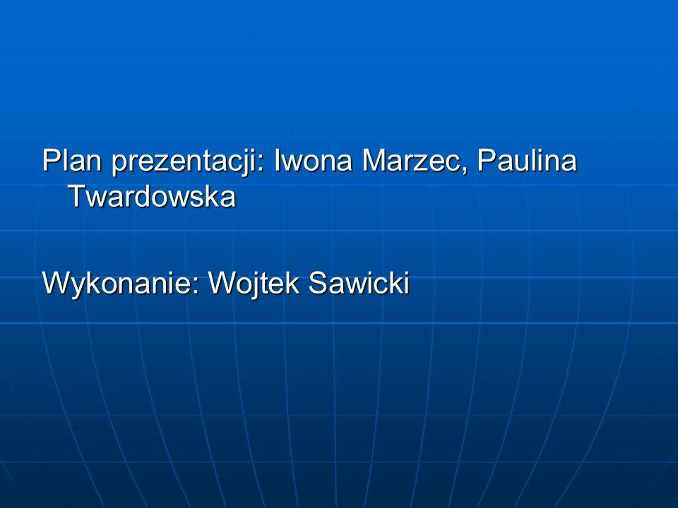 Plan prezentacji: Iwona Marzec, Paulina Twardowska