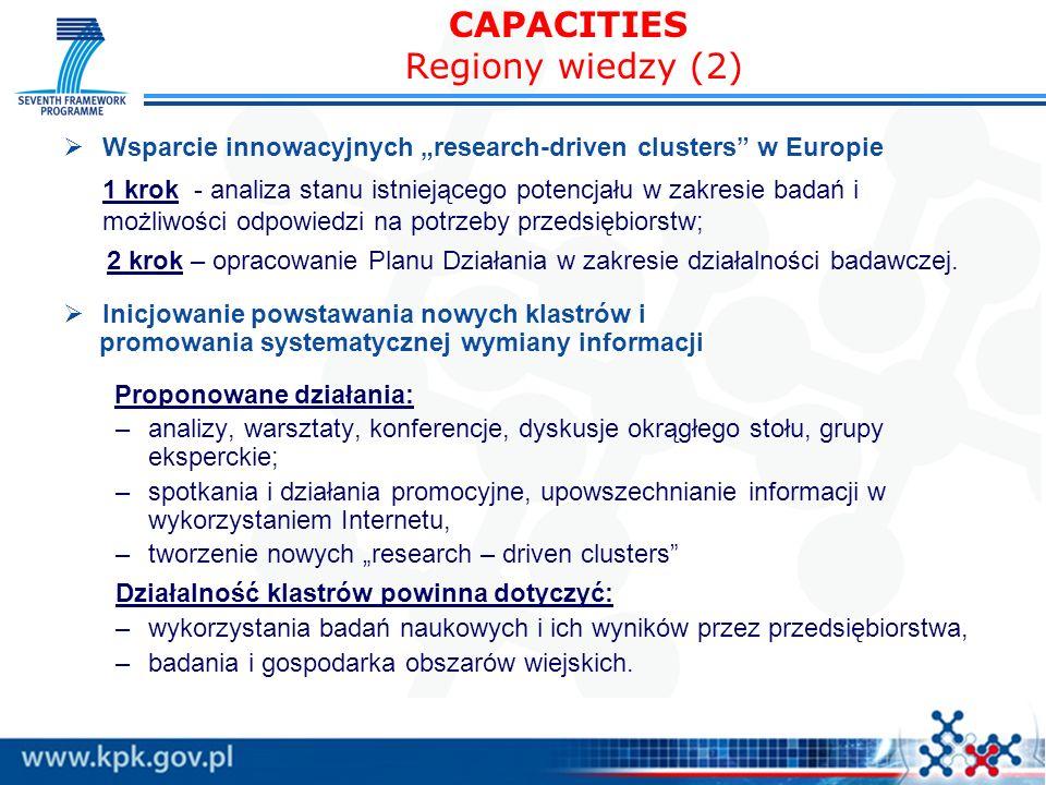 CAPACITIES Regiony wiedzy (2)