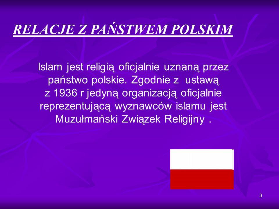 RELACJE Z PAŃSTWEM POLSKIM