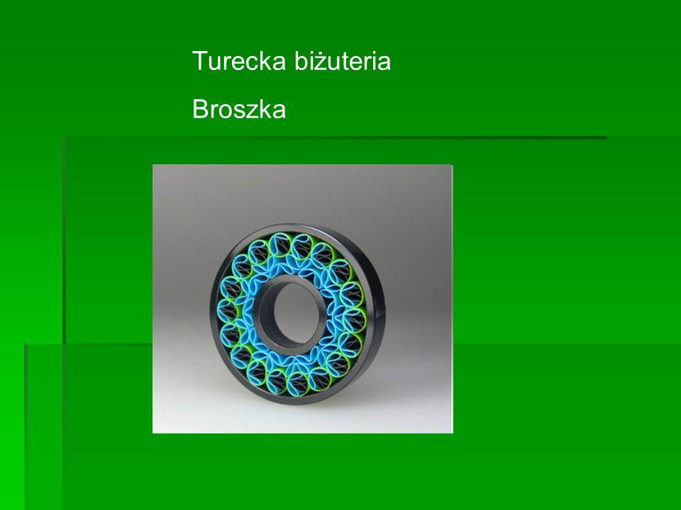 Turecka biżuteria Broszka