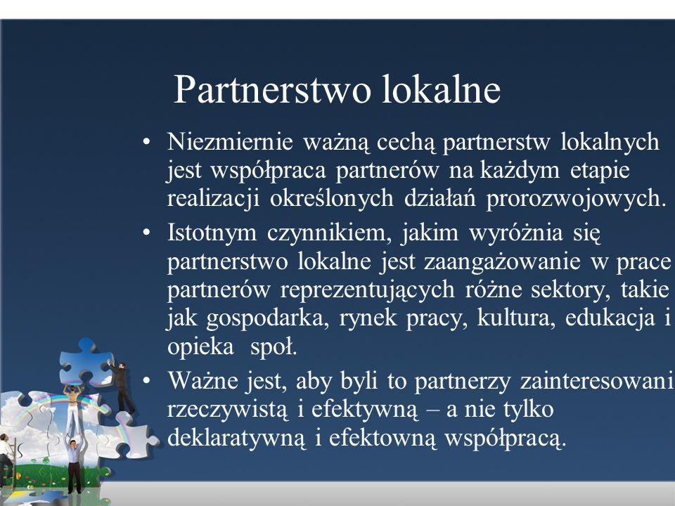 Partnerstwo lokalne