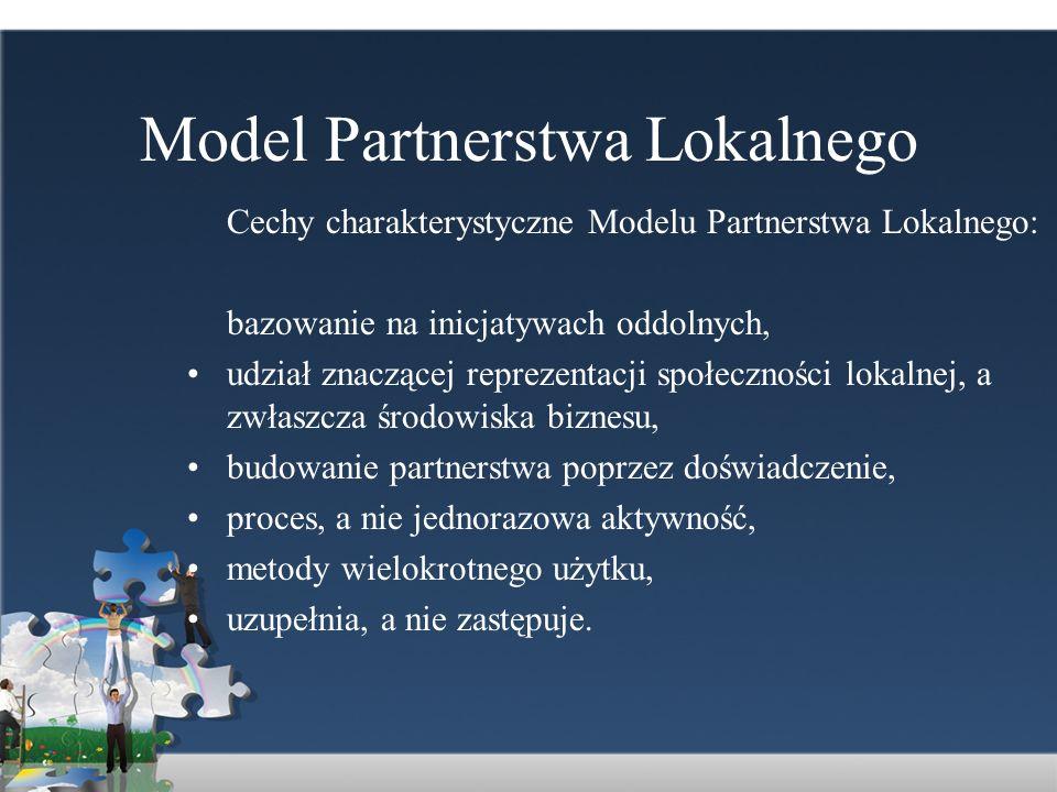 Model Partnerstwa Lokalnego