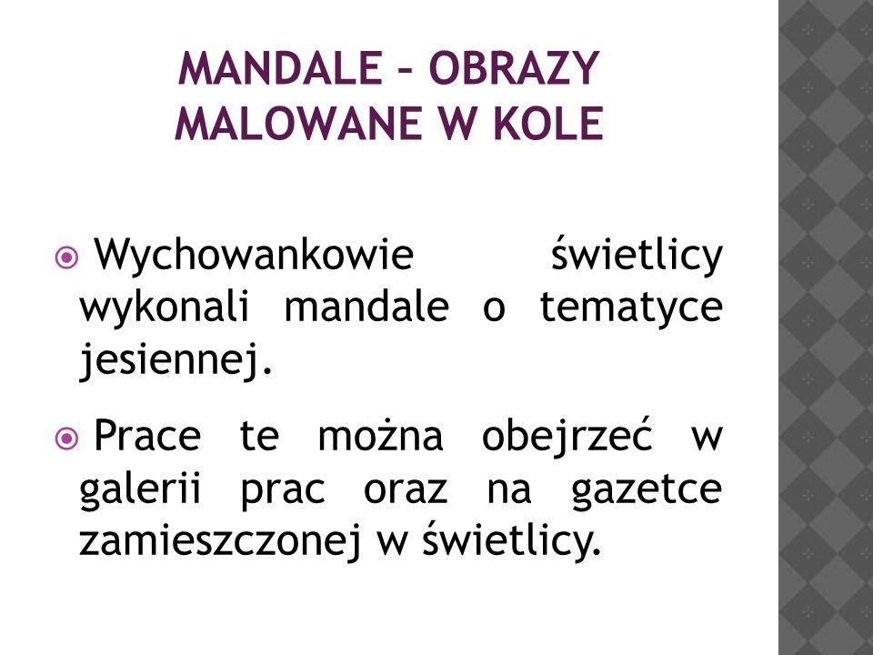 MANDALE – OBRAZY MALOWANE W KOLE