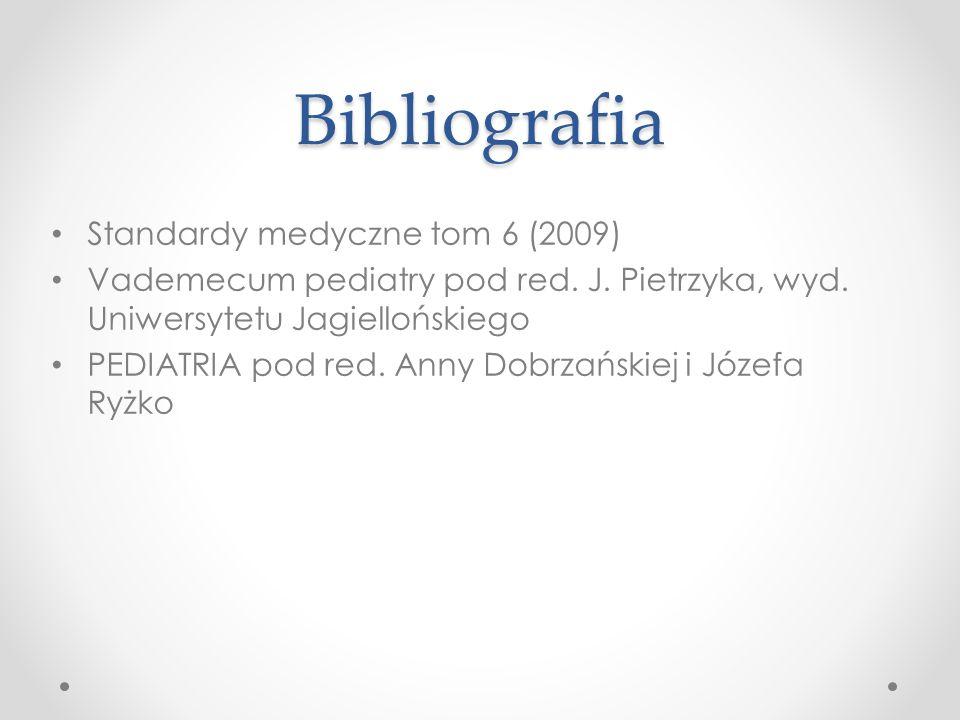 Bibliografia Standardy medyczne tom 6 (2009)