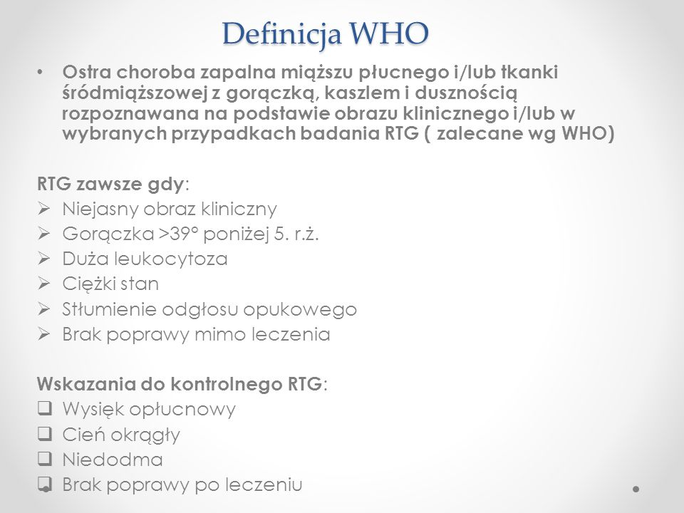 Definicja WHO