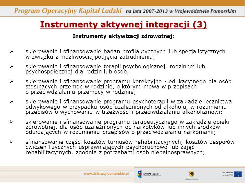 Instrumenty aktywnej integracji (3)