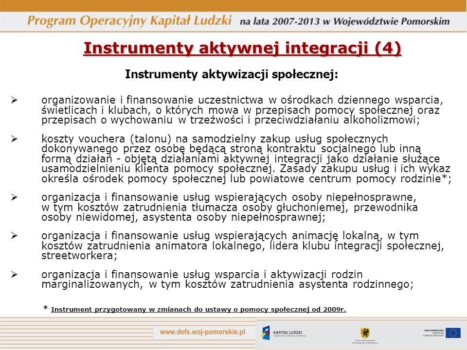 Instrumenty aktywnej integracji (4)