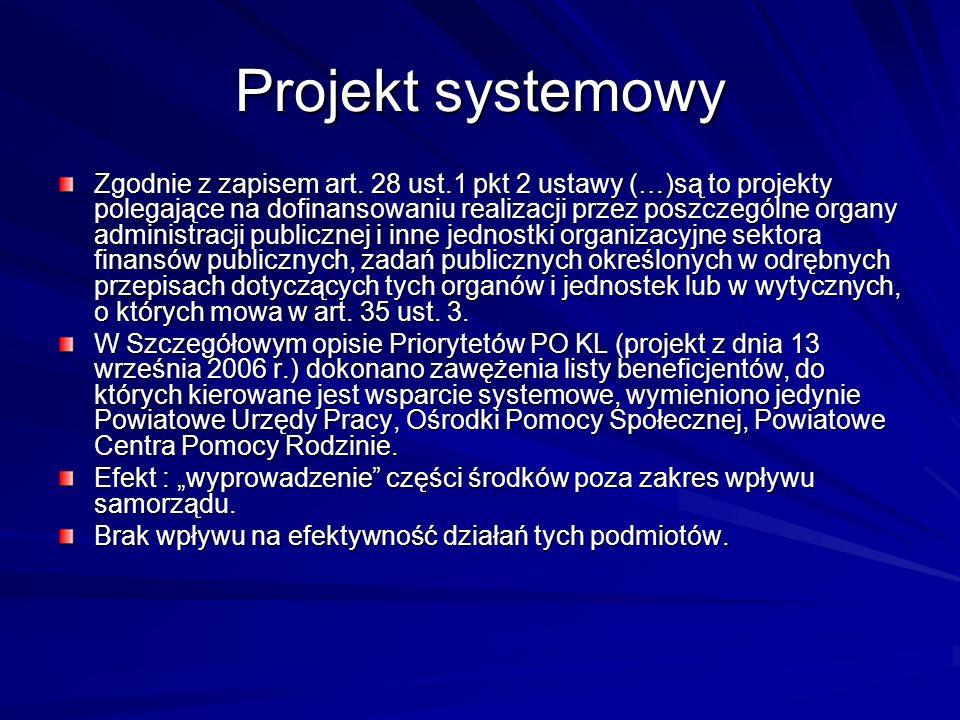 Projekt systemowy