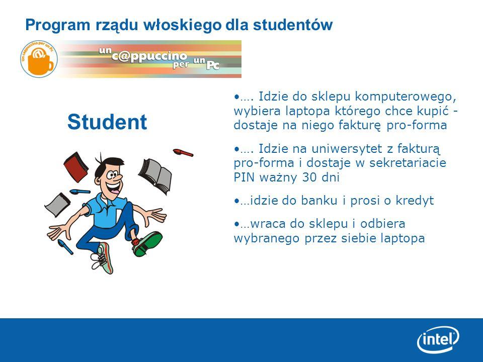 Student Program rządu włoskiego dla studentów