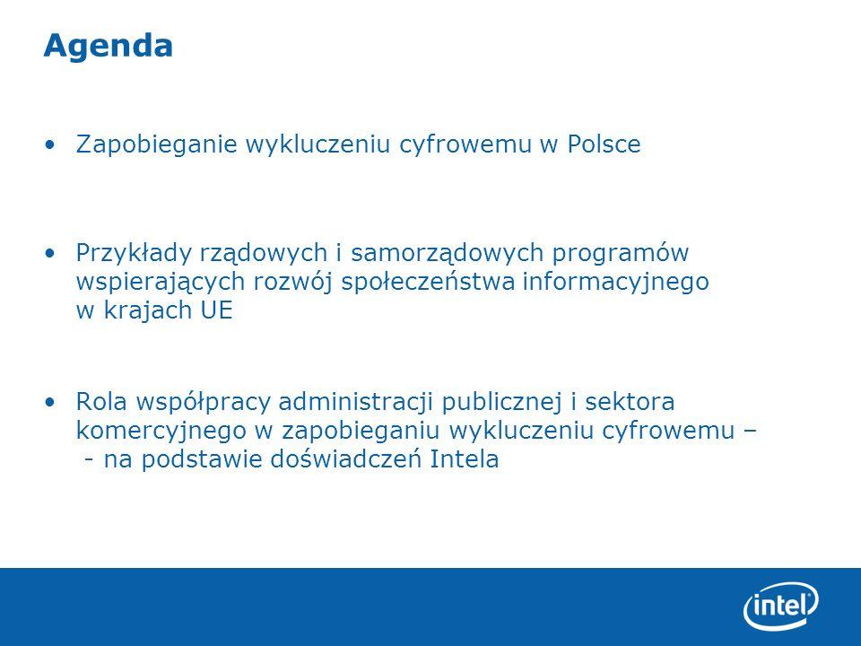 Agenda Zapobieganie wykluczeniu cyfrowemu w Polsce