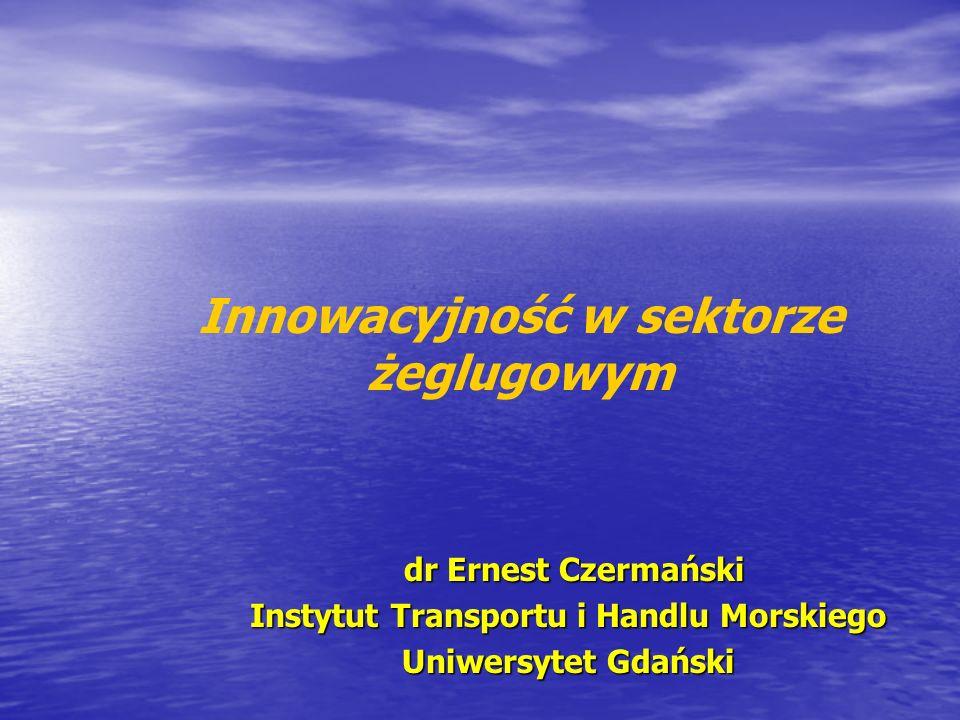 Innowacyjność w sektorze żeglugowym