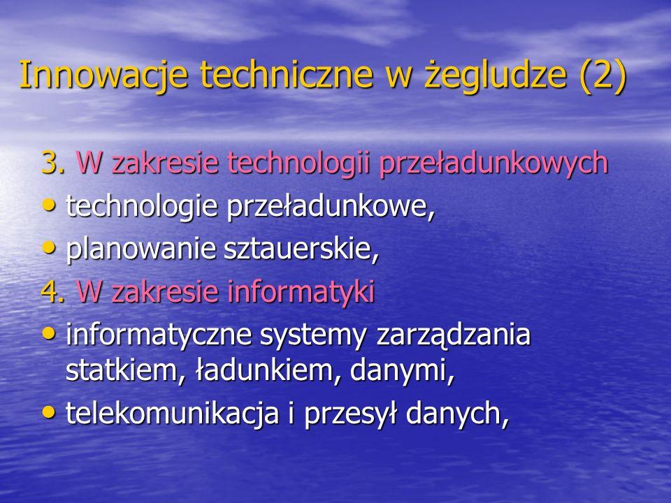 Innowacje techniczne w żegludze (2)