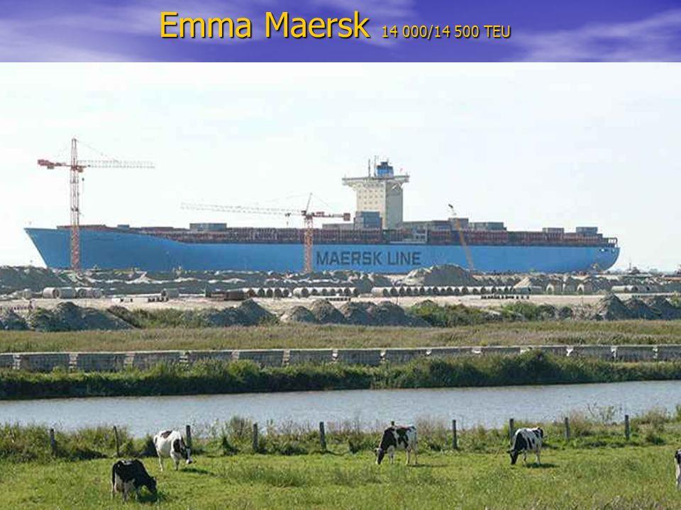 Emma Maersk 14 000/14 500 TEU