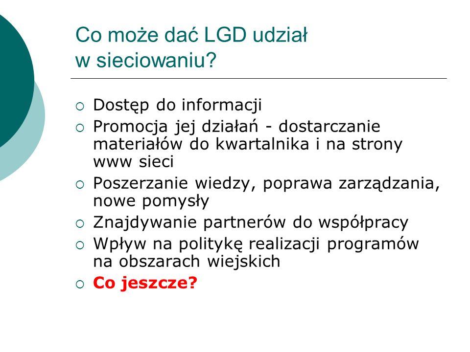 Co może dać LGD udział w sieciowaniu