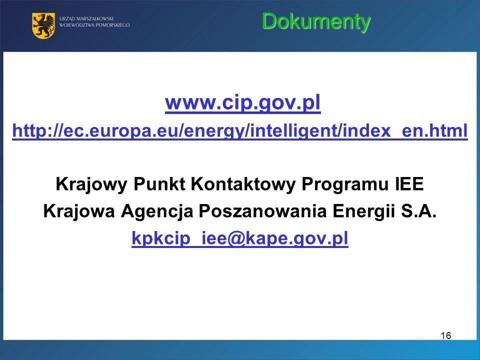 Dokumenty www.cip.gov.pl