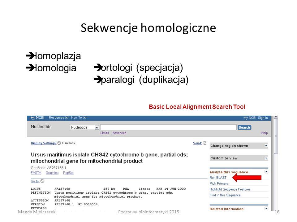 Sekwencje homologiczne