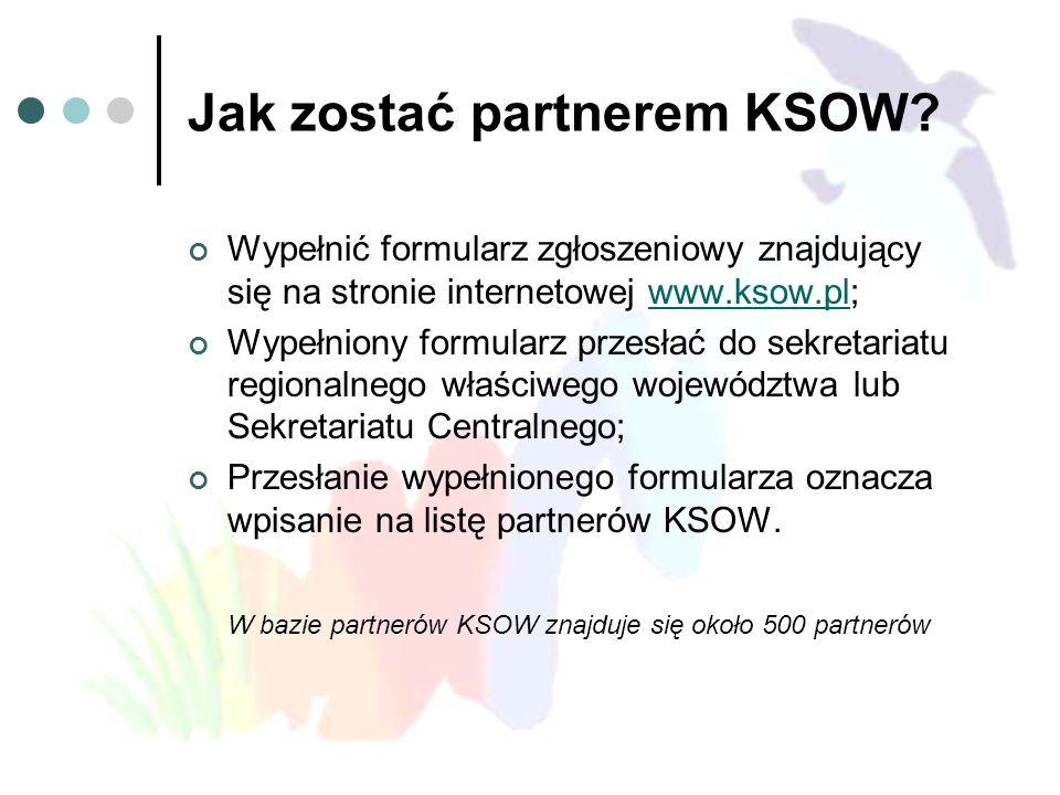 Jak zostać partnerem KSOW