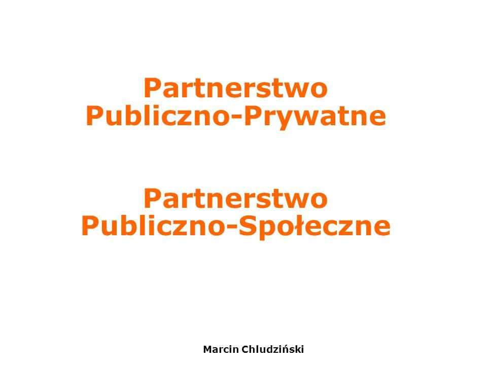 Partnerstwo Publiczno-Prywatne Partnerstwo Publiczno-Społeczne