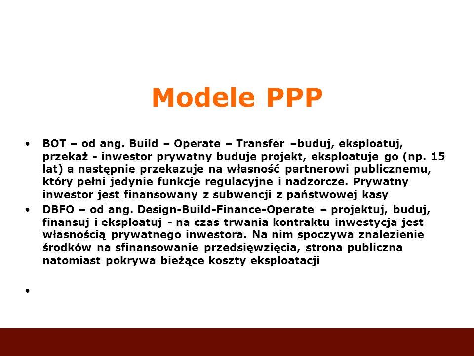 Modele PPP