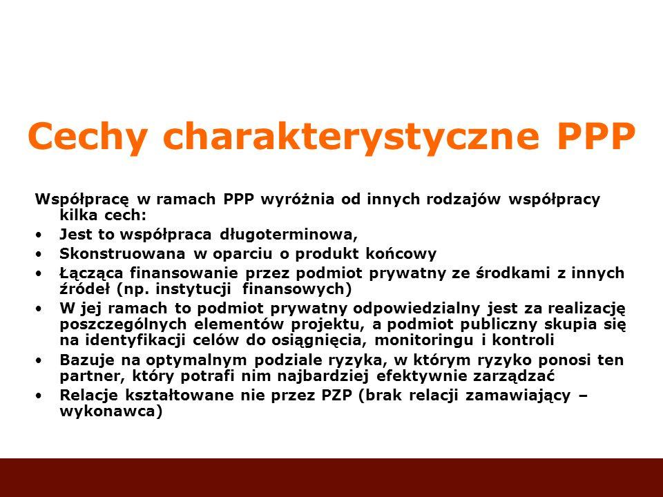 Cechy charakterystyczne PPP