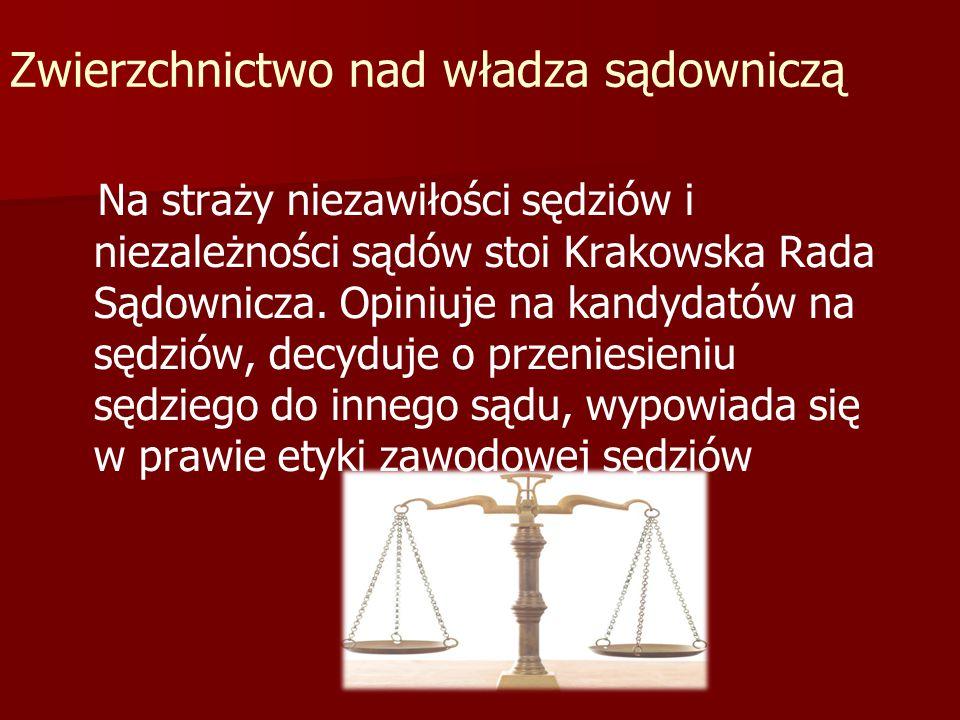 Zwierzchnictwo nad władza sądowniczą