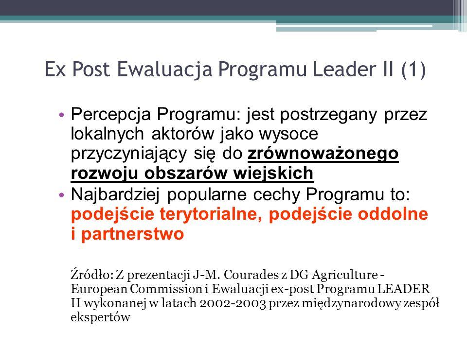 Ex Post Ewaluacja Programu Leader II (1)