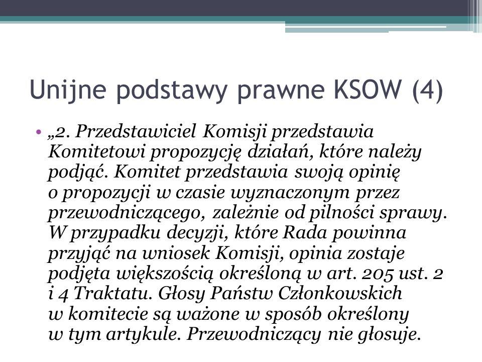 Unijne podstawy prawne KSOW (4)