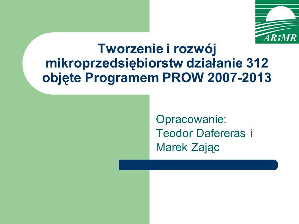 Opracowanie: Teodor Dafereras i Marek Zając