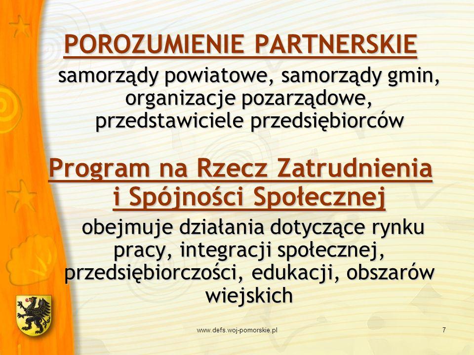 Program na Rzecz Zatrudnienia i Spójności Społecznej
