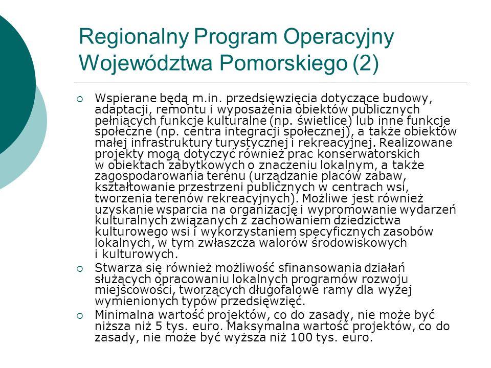 Regionalny Program Operacyjny Województwa Pomorskiego (2)
