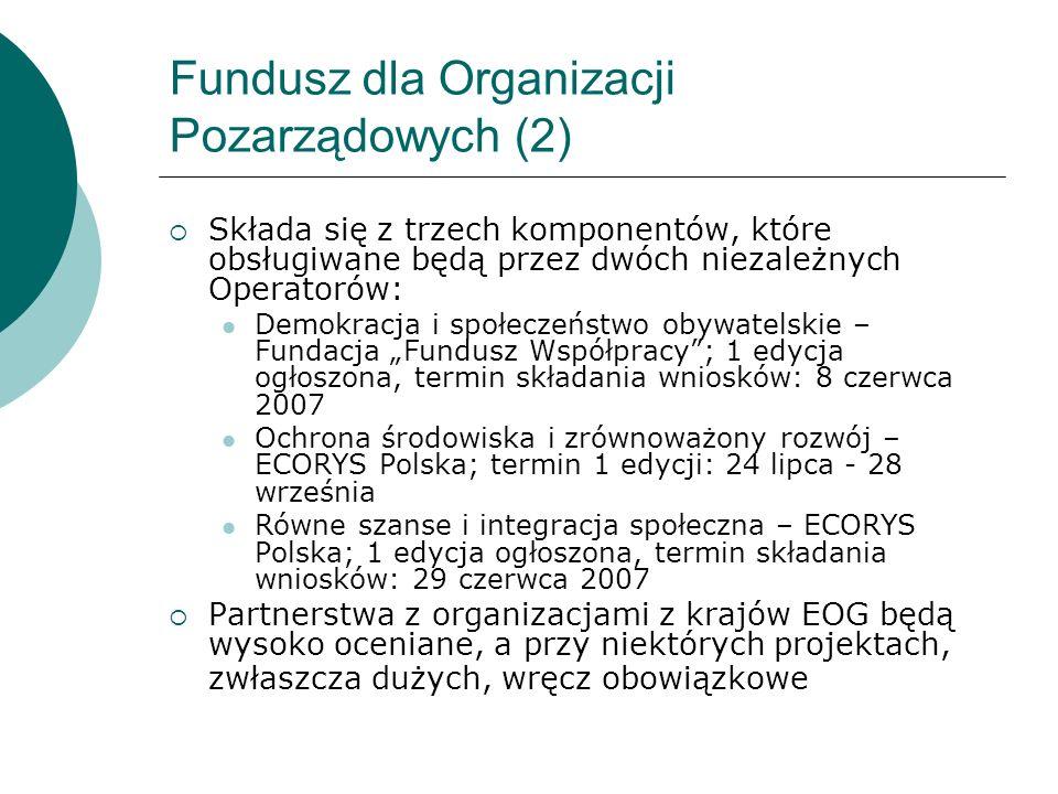 Fundusz dla Organizacji Pozarządowych (2)