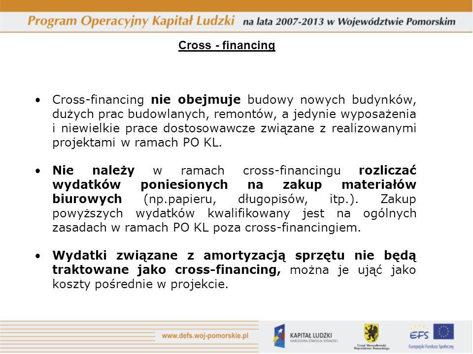 Cross - financing