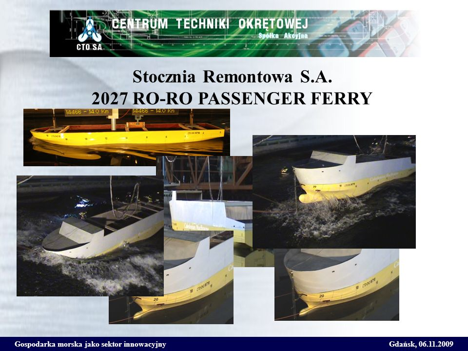 Stocznia Remontowa S.A. 2027 RO-RO PASSENGER FERRY