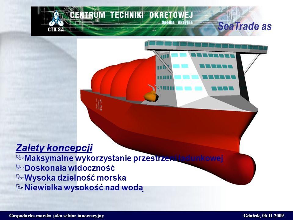 SeaTrade as Zalety koncepcji