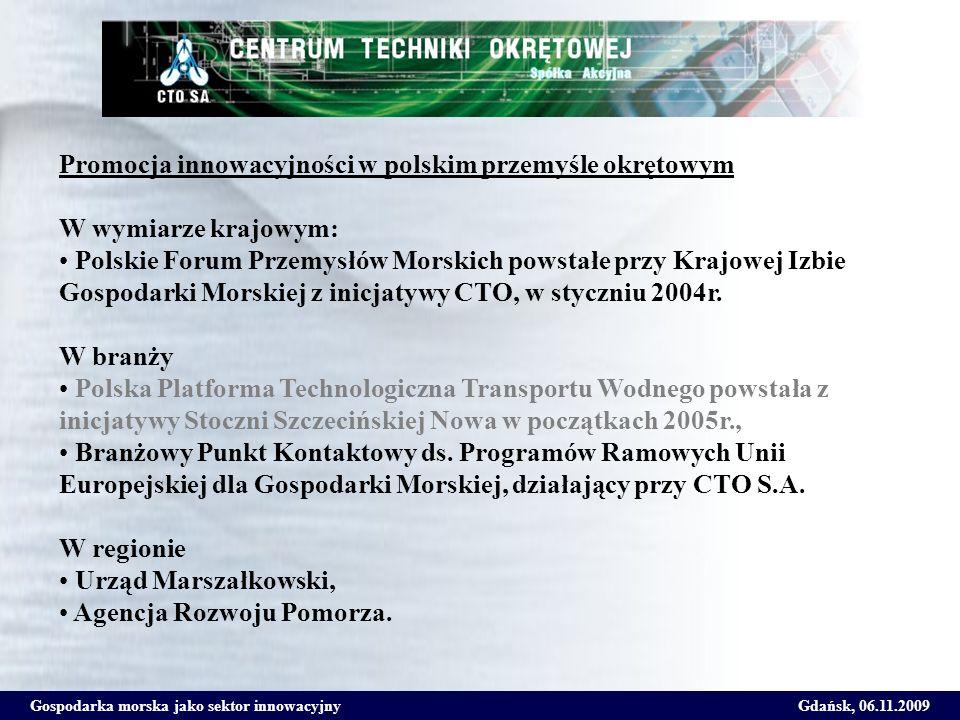 Promocja innowacyjności w polskim przemyśle okrętowym