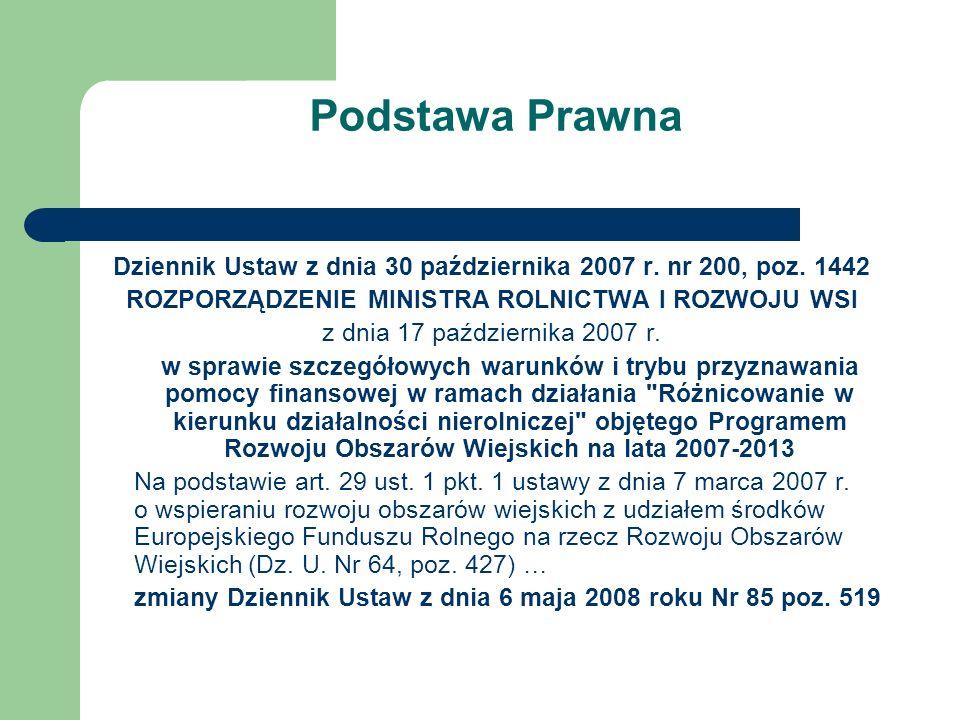 Dziennik Ustaw z dnia 30 października 2007 r. nr 200, poz. 1442