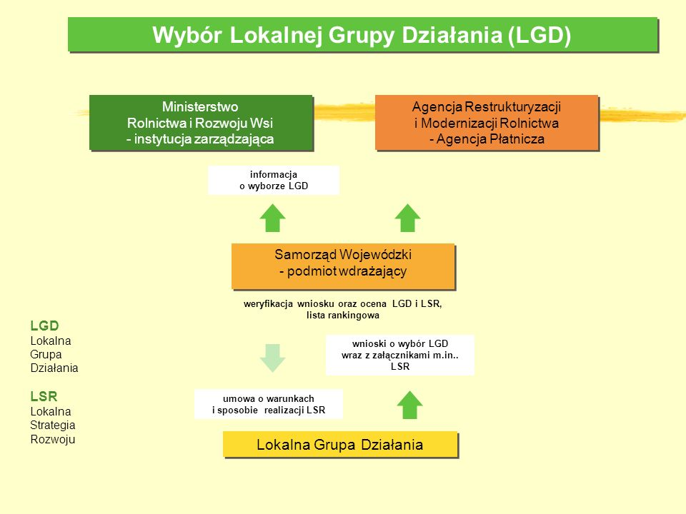 Wybór Lokalnej Grupy Działania (LGD)