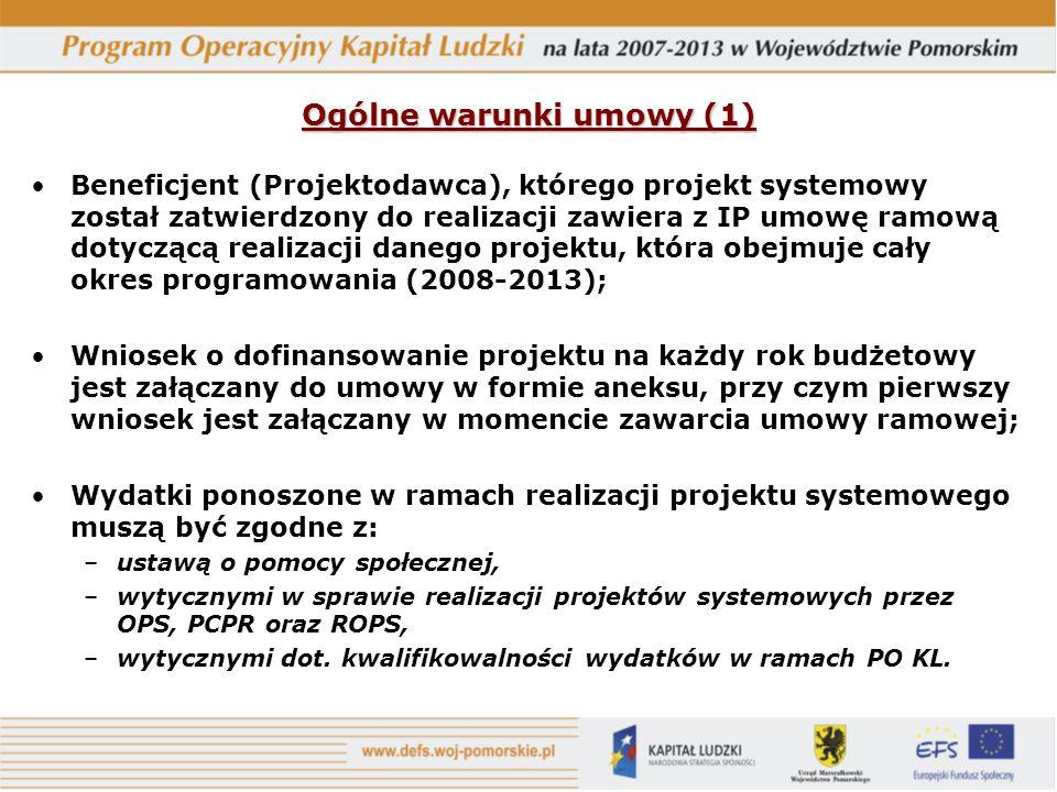 Ogólne warunki umowy (1)