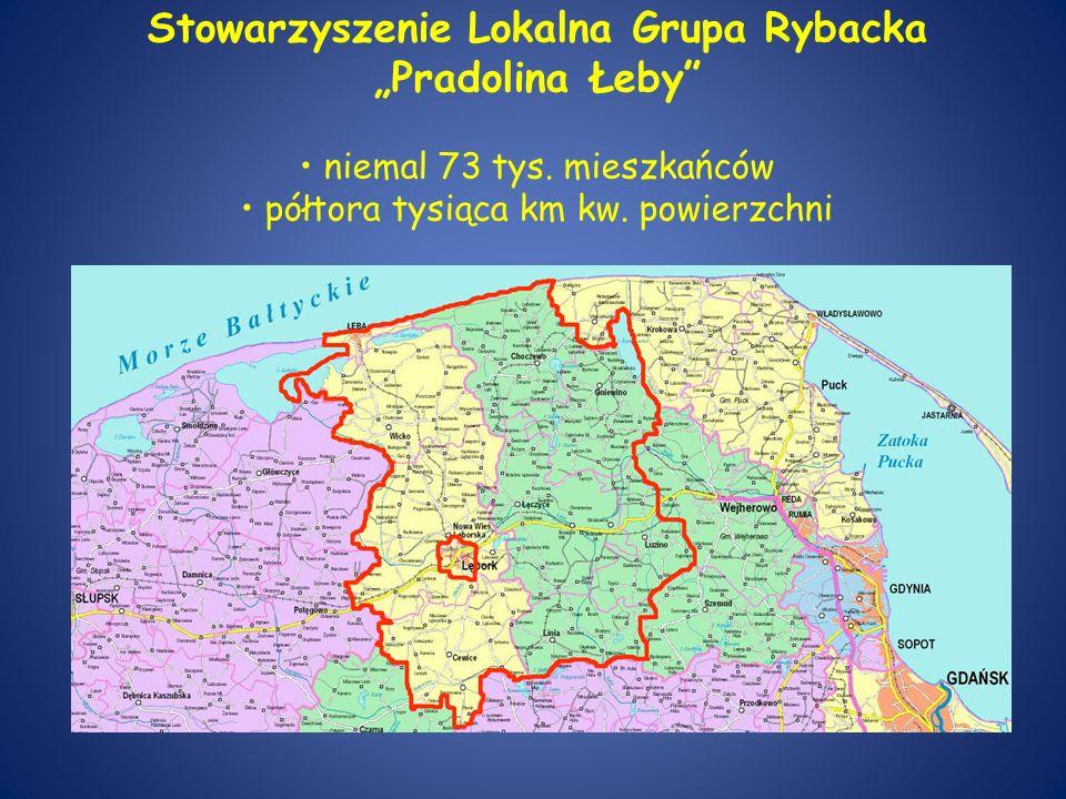 """Stowarzyszenie Lokalna Grupa Rybacka """"Pradolina Łeby • niemal 73 tys"""