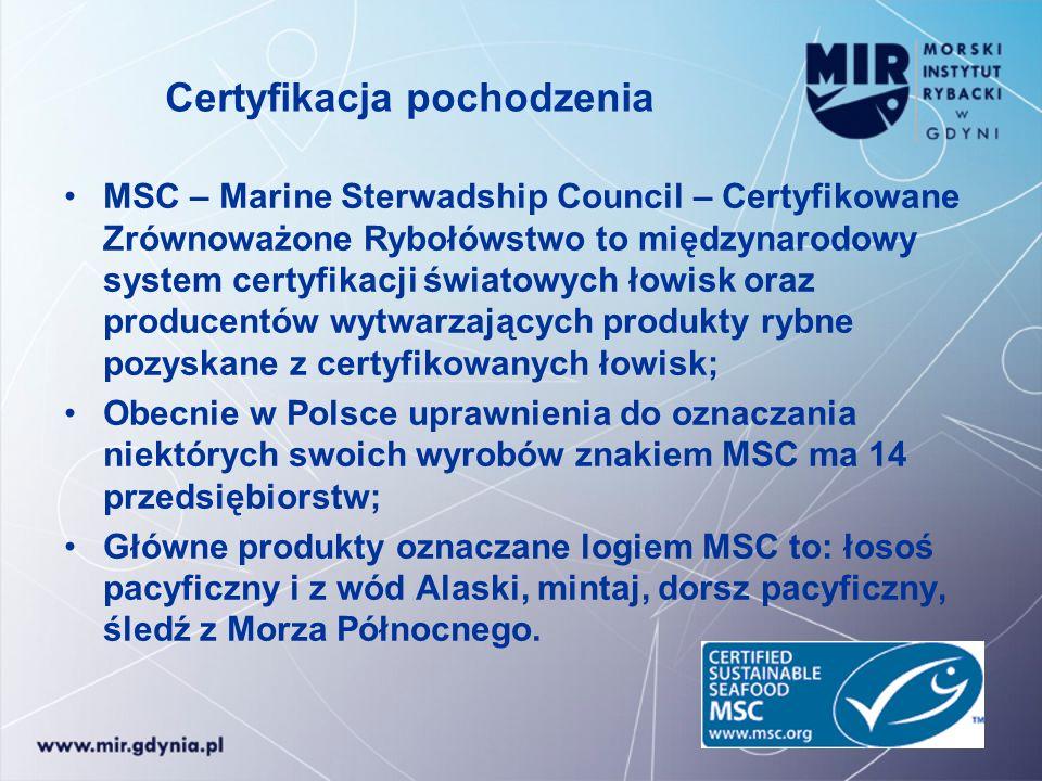 Certyfikacja pochodzenia