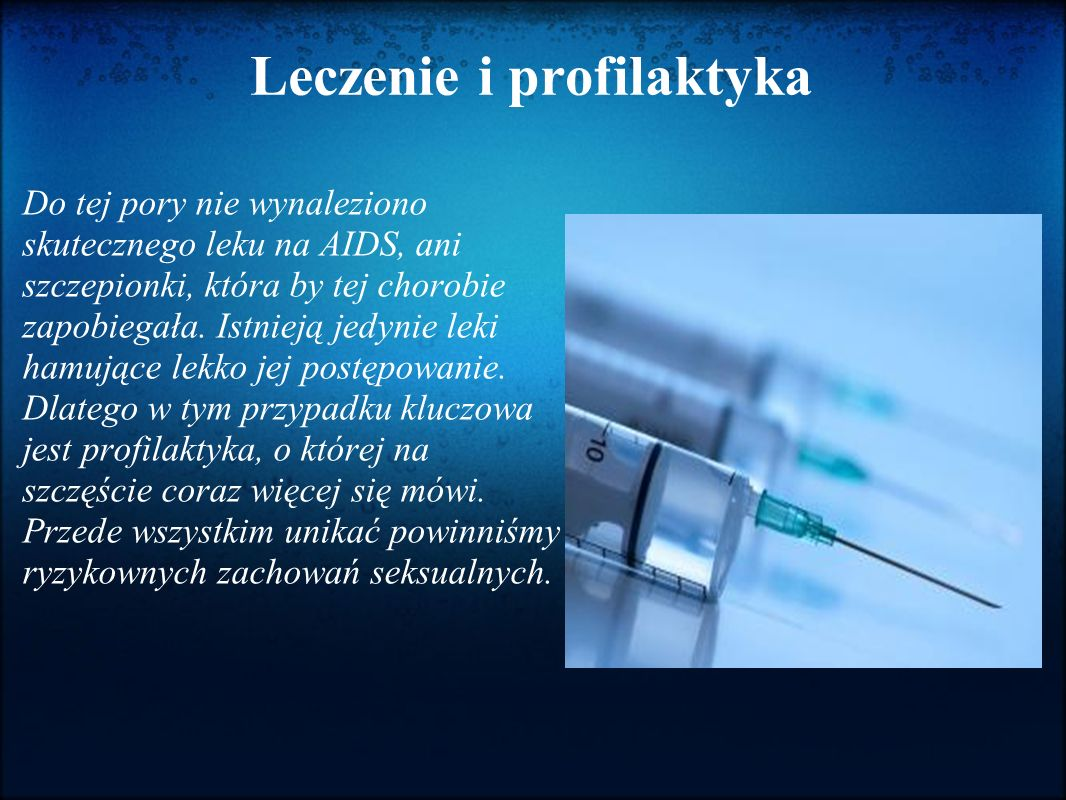 Leczenie i profilaktyka