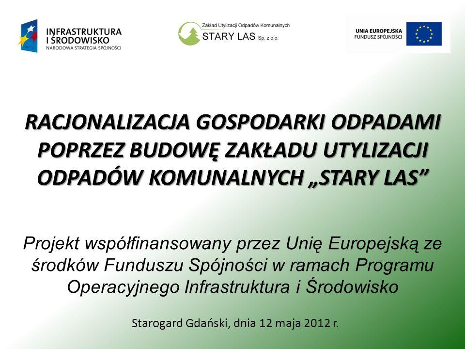 Starogard Gdański, dnia 12 maja 2012 r.