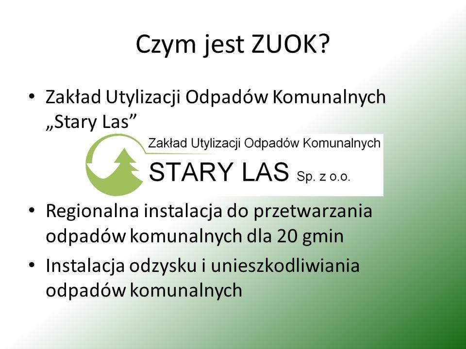 """Czym jest ZUOK Zakład Utylizacji Odpadów Komunalnych """"Stary Las"""