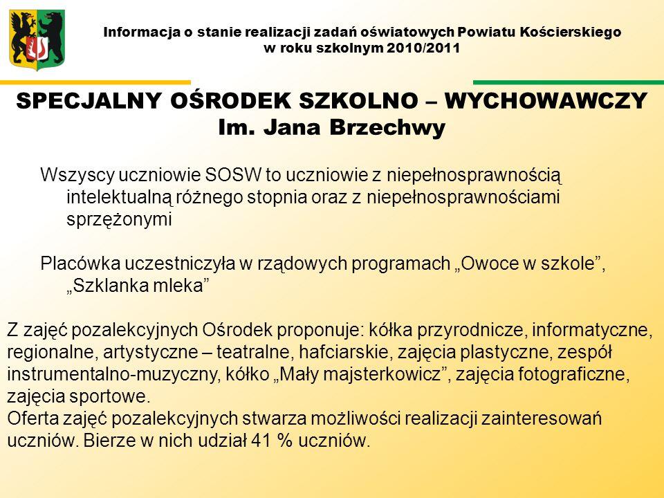 M SPECJALNY OŚRODEK SZKOLNO – WYCHOWAWCZY Im. Jana Brzechwy