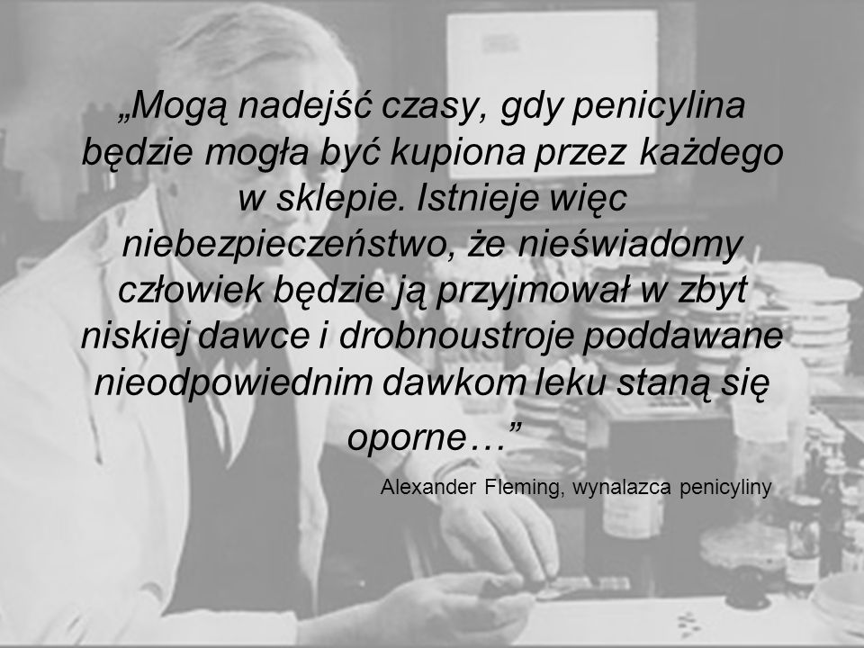 Alexander Fleming, wynalazca penicyliny